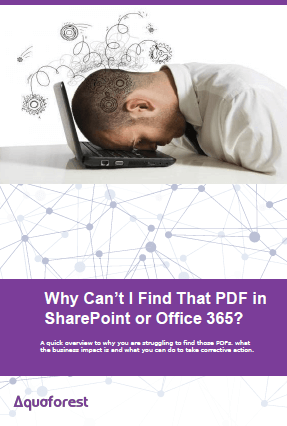 Why Can't I Find That PDF in SharePoint or Office 365?