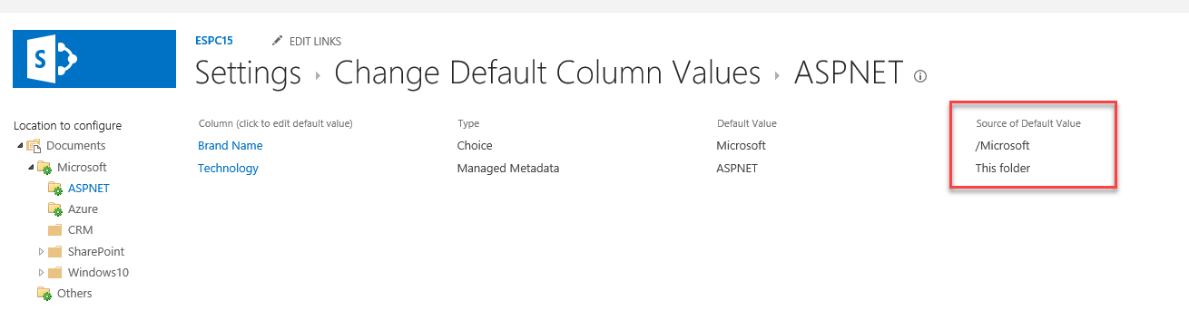 "CSOM – How to set ""default column value settings"" for a document library"