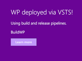 Use build and release pipelines in VSTS to automate your SharePoint Framework deployments