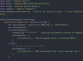 Read and manipulate SPFx configuration values in your code like a boss